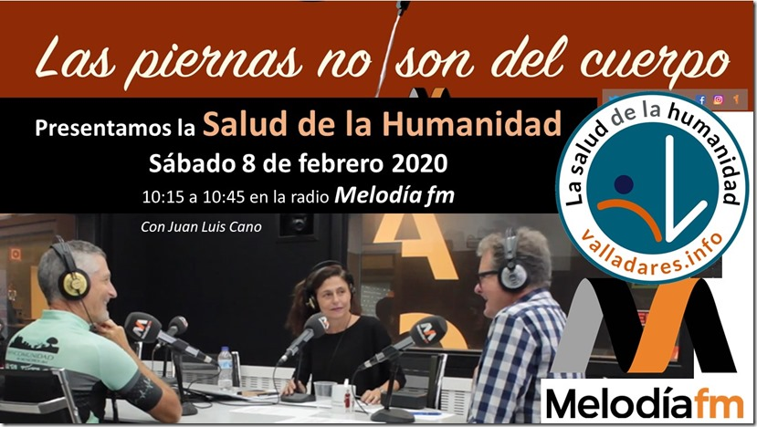 presentacion salud de humanidad Melodia fm 8 febrero 2020