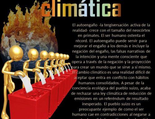 De espaldas a la realidad climática