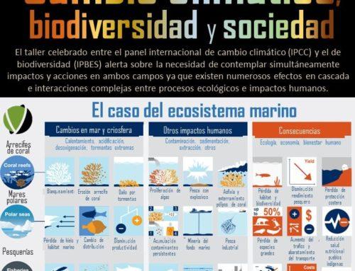 Cambio climático, biodiversidad y sociedad